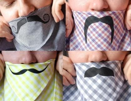 mustache hankerchief