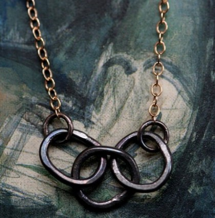 Ring necklace