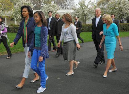 Michelle Obama on Easter sunday