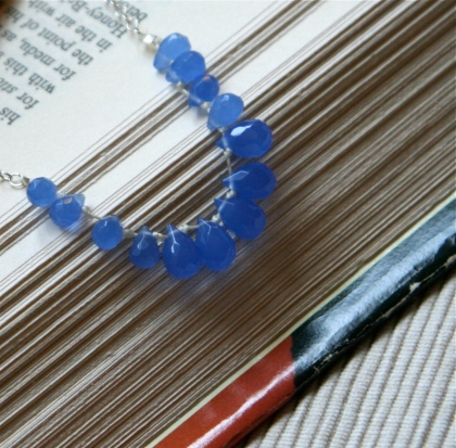 blue tears necklace