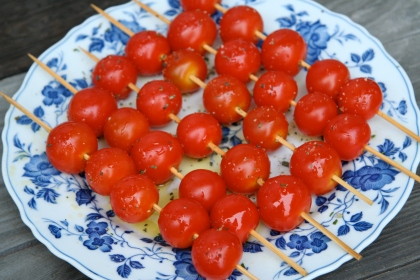 tomatoes for the grill